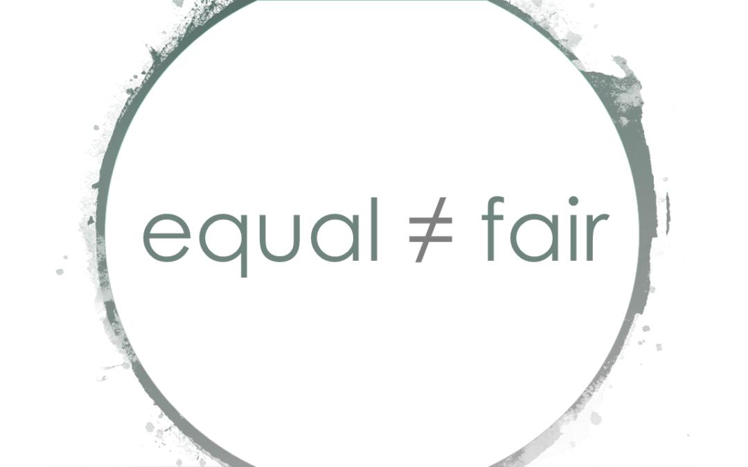 Lohngleichheit ist nicht gleich Lohngerechtigkeit!