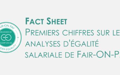 Fact sheet analyses de l'égalité salariale